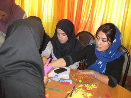 کارگاه استفاده از ادبیات کودکان در آموزش دبستان هاجر منطقه 6 تهران